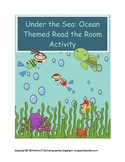 Under the Sea Ocean Read the Room with recording sheets!
