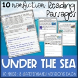 Under the Sea Reading Passages - Distance Learning