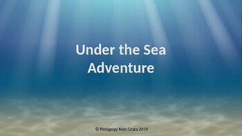 Under the Sea Reading Smart Board Game Early Primary Level 4