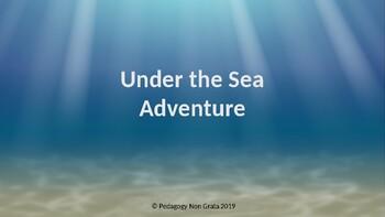 Under the Sea Reading Smart Board Game: Grade 5: Level 4