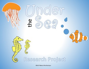Under the Sea- Research Project