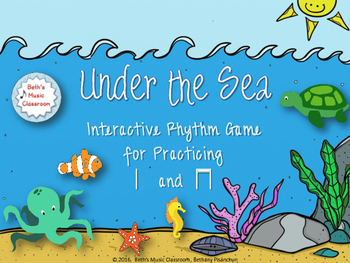 Under the Sea Rhythm Game - Ta, Ti-ti (Kodaly)