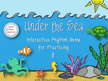 Under the Sea Rhythm Game - Ta rest (Kodaly)