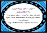 *Under the Sea* Rock Pool Craftivity and Acivitity