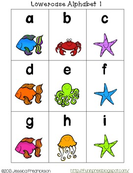 Under the Sea Roll Say Keep: Alphabet Recognition (Common Core Aligned)