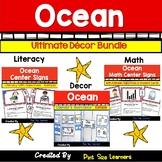 EDITABLE Under the Sea Classroom Theme | Ocean Themed Classroom Decor| Bundle