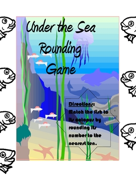 Under the Sea Rounding Game