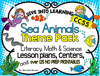 lesson plan under the sea level Under the seaocean animals: information, lesson plans and links.