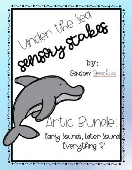 Under the Sea Sensory Stakes: Artic Bundle