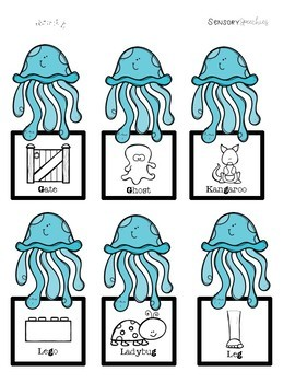 Under the Sea Sensory Stakes: K, G