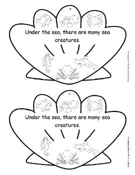 Sea Shape Book