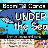 Under the Sea: Short /e/ Words {Boom Cards}