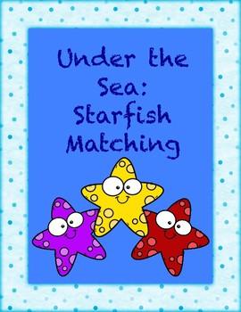 Under the Sea: Starfish Matching Activity