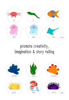 Under the Sea Story Cards