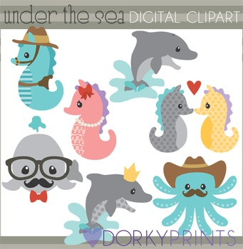 Under the Sea Summer Clip Art