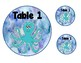 Under the Sea Table Labels