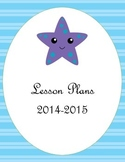 Under the Sea Teacher Binder Covers or Dividers with Starf