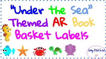 Under the Sea Theme AR Labels