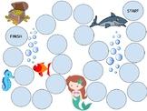Under the Sea Theme Board Game