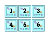 Under the Sea Theme Calendar Numbers