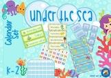 Under the Sea Themed Calendar Set