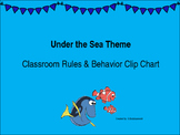 Under the Sea Theme Classroom Rules and Clip Art