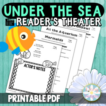 Reader's Theater - Under the Sea Theme Scenes and Skits