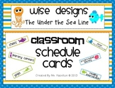 [Wise Designs] Under the Sea Classroom Schedule Cards