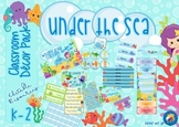 Under the Sea Themed Classroom Decor Pack
