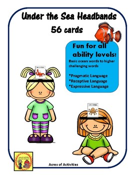 Under the Sea Themed Headbands Game - Right to Read Week