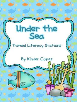 Under the Sea Themed Literacy Stations