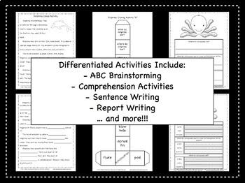 Under the Sea: Tiered Activities Aligned with Common Core