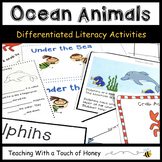 Ocean Animal Activities - Reading and Writing