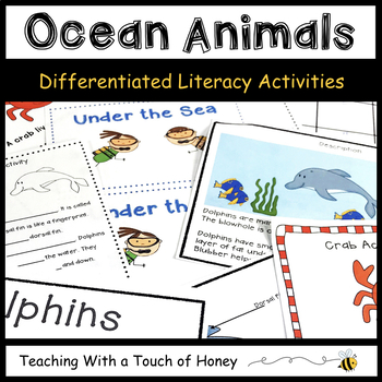 Under the Sea: Tiered Reading and Writing Activities Align