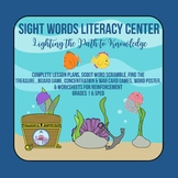 Sight Word Literacy Center for 1st Grade & SPED with Full Lesson Plans