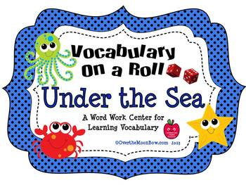 Under the Sea ~ Vocabulary On a Roll