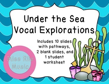 Under the Sea Vocal Explorations
