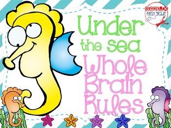 Under the Sea Whole Brain Teaching Rules