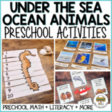 Ocean Themed Preschool Activities and Centers
