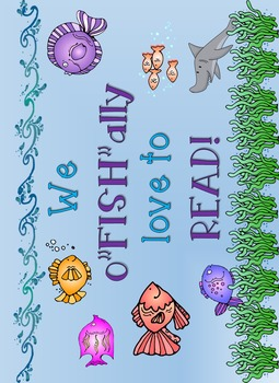 Under the Sea classroom display labels