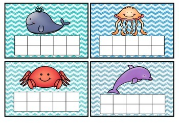 Under the Sea star chart ten frame