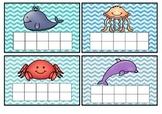 Under the Sea star chart ten frame