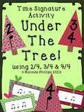 Under the Tree: Time Signature Activity for the Kodaly or Orff Classroom