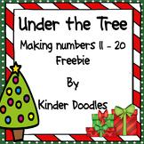 Under the Tree ~ Making Numbers 11 - 20 Freebie