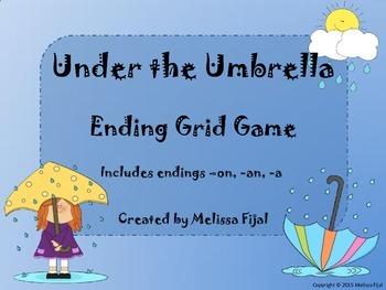 Under the Umbrella - Ending Grid Game