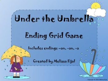 Under the Umbrella - Ending Grid Game