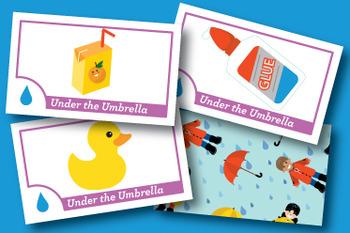Under the Umbrella Short and Long U Phonics Game