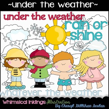 Under the Weather Clipart Collection