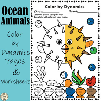 Under the sea: Color by Dynamics