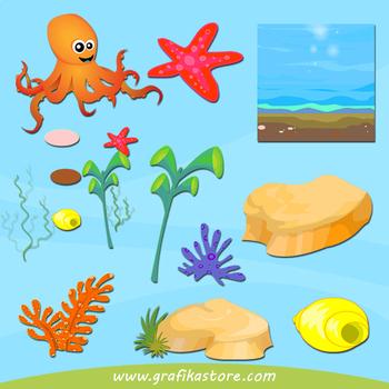 Under the sea clipart